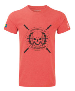 CW Barbell Club t-shirt red