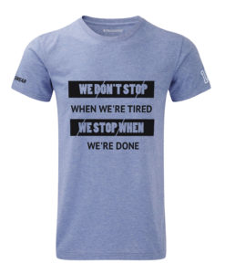 CW We Don't Stop Crosswear t-shirt blue
