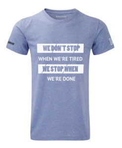 CW We Don't Stop t-shirt blue