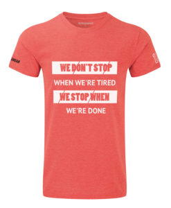 CW We Don't Stop t-shirt red
