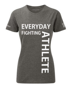 CW Everyday fighting athlete Crosswear t-shirt grey w