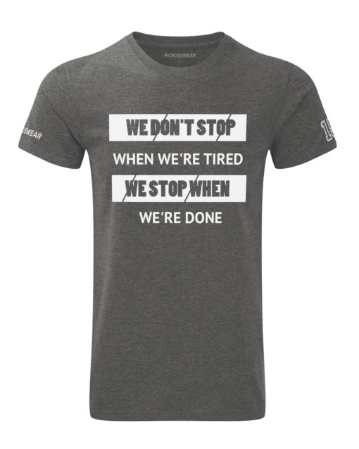 CW We Don't Stop t-shirt grey