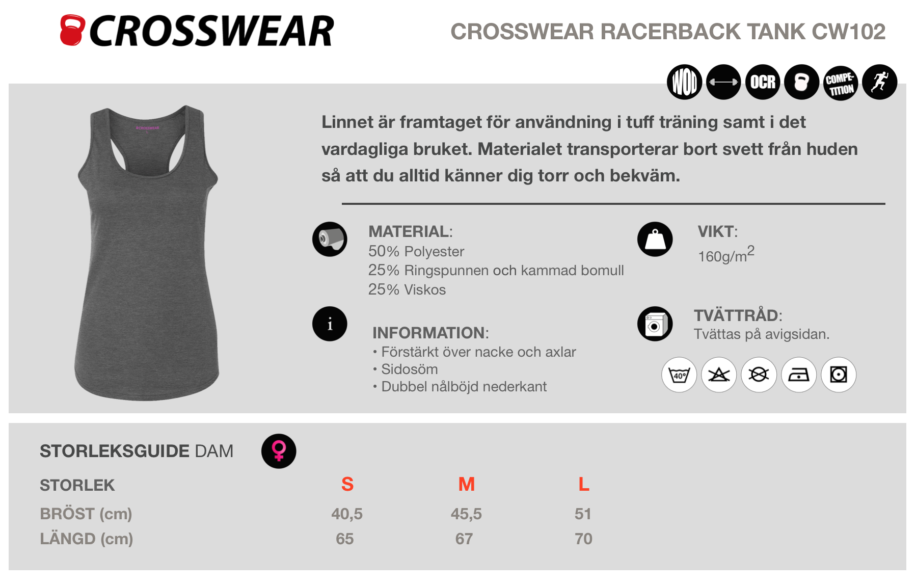crossfit tank top crosswear