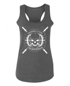 tank top barbell club Crosswear