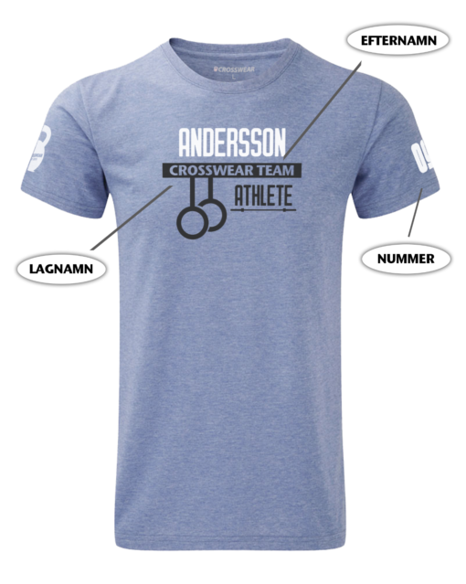 Crossfit competition t-shirt