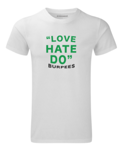 Crosswear crosswear love burpees