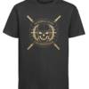 CW Kid Crossfit t-shirt Barbell Club black-gold