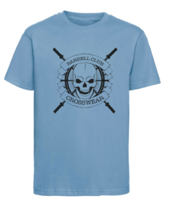CW Kid Crosswear t-shirt Barbell Club blue