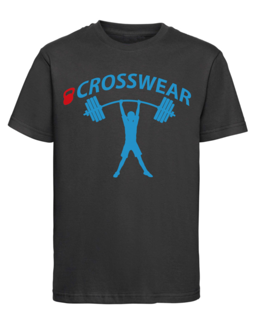 CW Kid Crossfit t-shirt strong black-blue