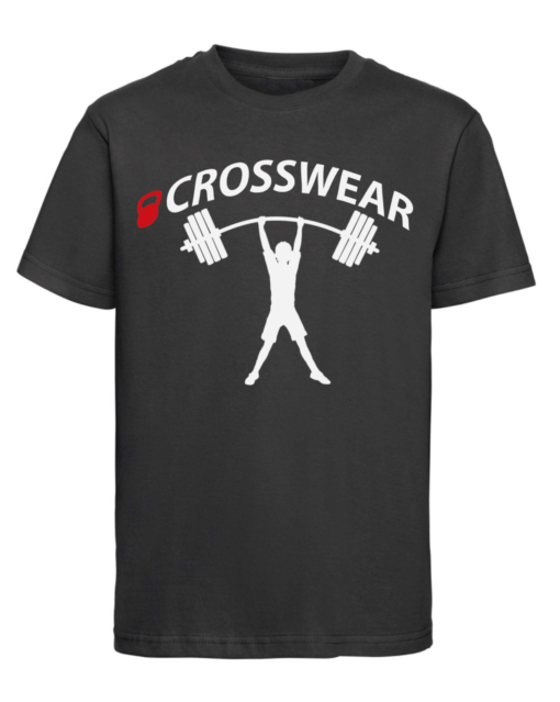 CW Kid Crossfit t-shirt strong black-white