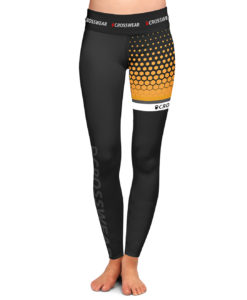CW tights Crosswear Crosswear WOD bumble bee