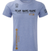 Crossfit competition t-shirt v4 blue