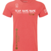 Crossfit competition t-shirt v4 red
