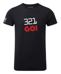 Crosswear WOD 321 go crosswear t-shirt black