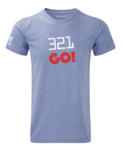 Crosswear WOD 321 go crosswear t-shirt blue