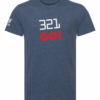 crossfit 321 go crosswear t-shirt dblue