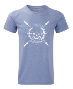 CW Barbell Club crossfit t-shirt blue