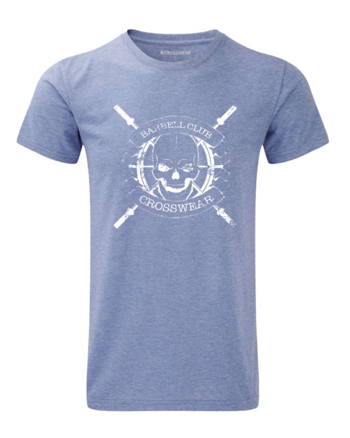 CW Barbell Club Crosswear WOD t-shirt blue
